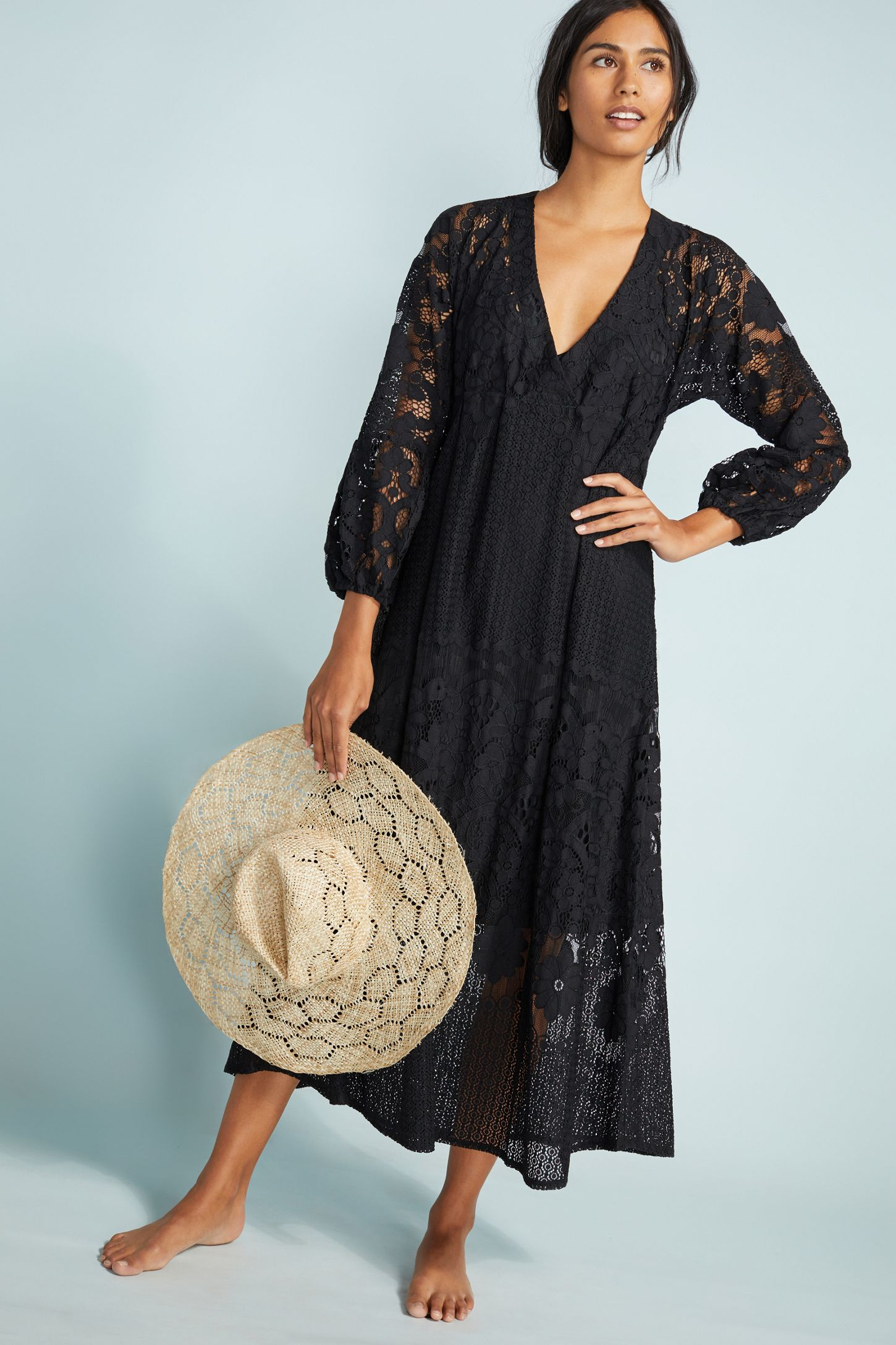 9cd2500a6148a Melissa Odabash Melissa Lace Cover-Up Dress   Anthropologie