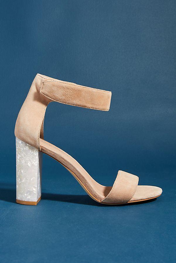 Slide View  1  Jeffrey Campbell Lindsay Lucite-Heeled Sandals