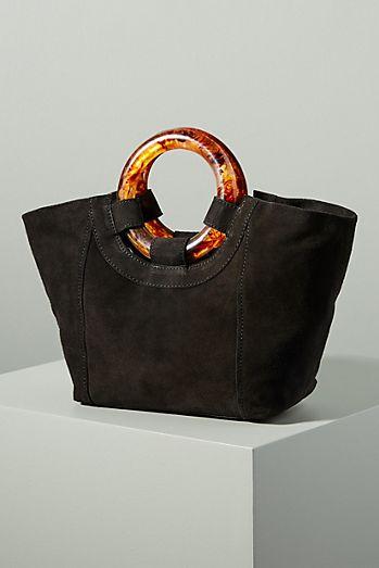 c77b13c5ca Ursula Lucite-Handled Tote Bag