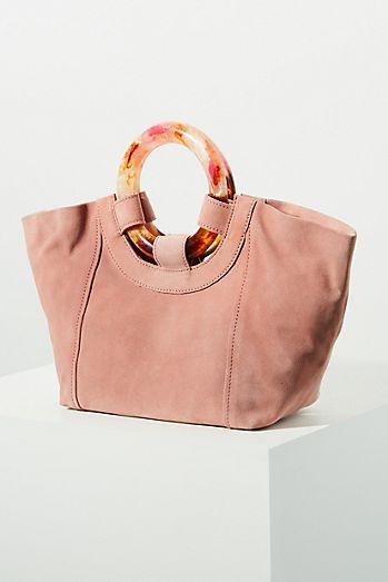 78929df5a1c3 Ursula Lucite-Handled Tote Bag