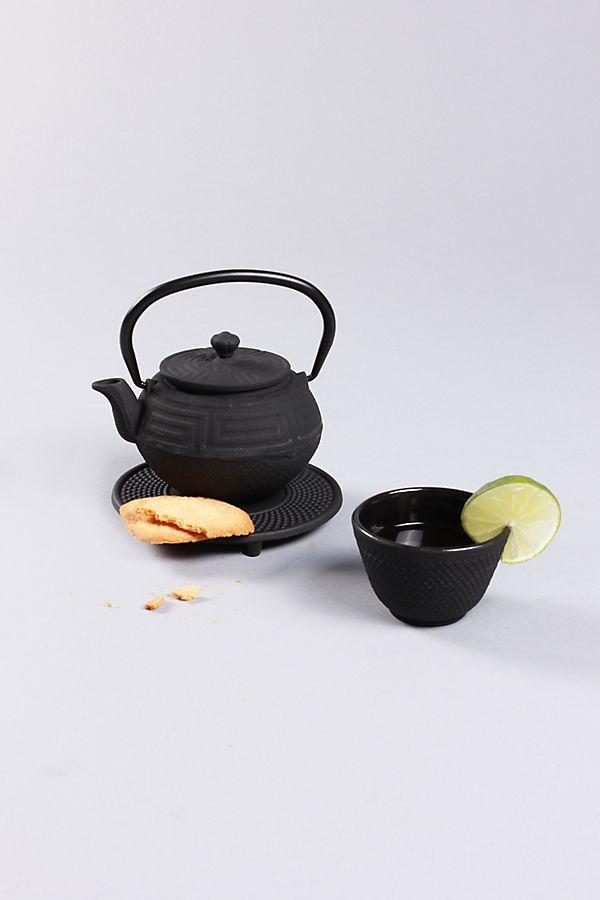 Slide View: 1: BergHOFF Studio 5-Piece Cast Iron Teapot Set