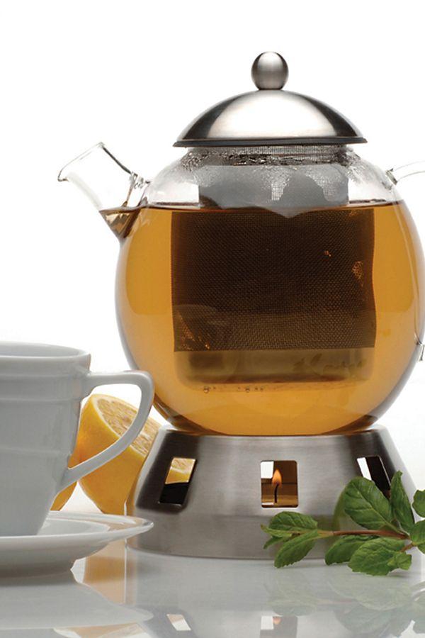 Slide View: 1: BergHOFF Dorado Glass Teapot