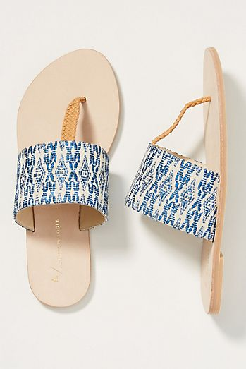 ecb107a65f Anthropologie Adette Sandals