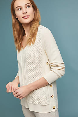 Slide View: 1: Arcana Buttoned Pullover