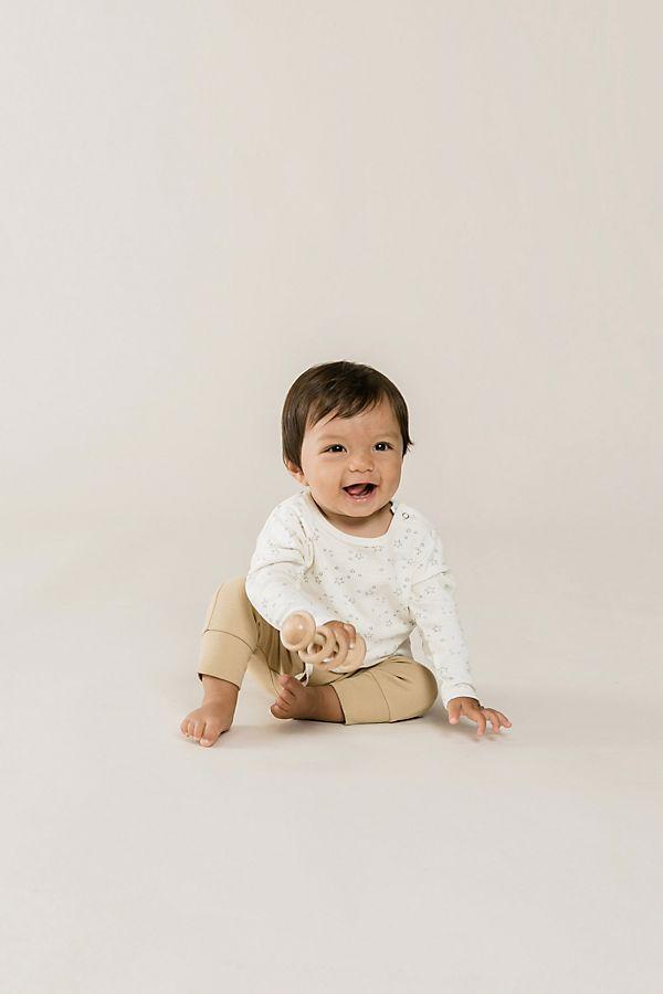 Slide View: 1: Quincy Mae Long Sleeve Baby Tee