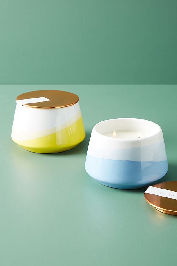 Slide View: 2: Halcyon Ceramic Candle