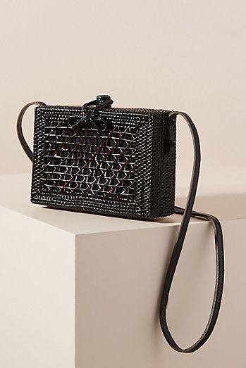 cbe5374de4 Giovanna Wicker Crossbody Bag