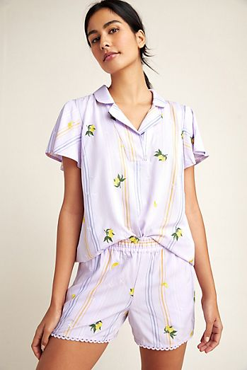 85c17810e3 Women's Pajamas - Sleep Tops & Pants | Anthropologie
