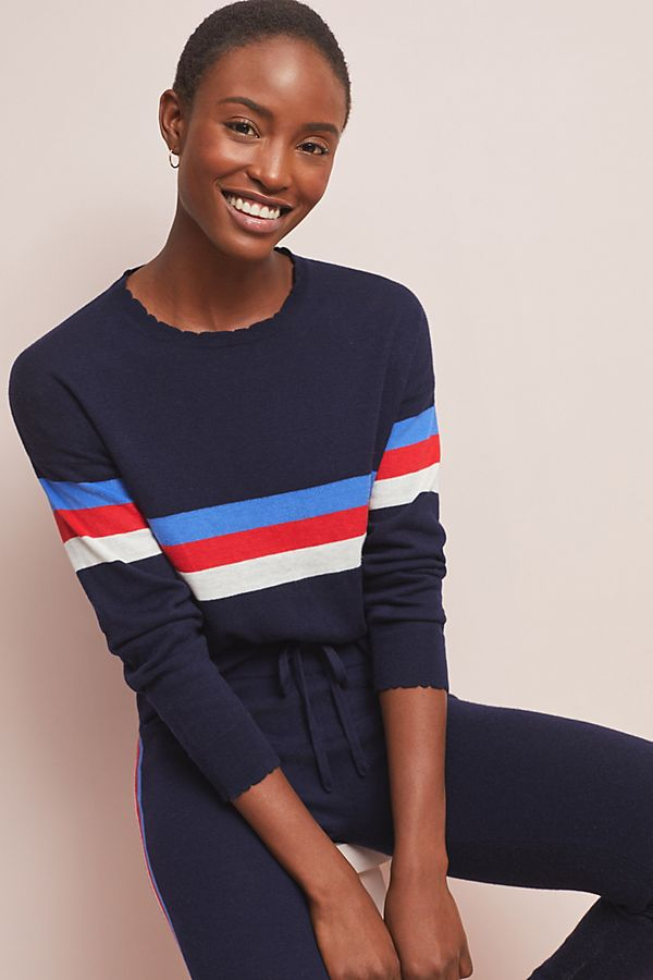 Slide View: 1: Sundry Striped Sweater