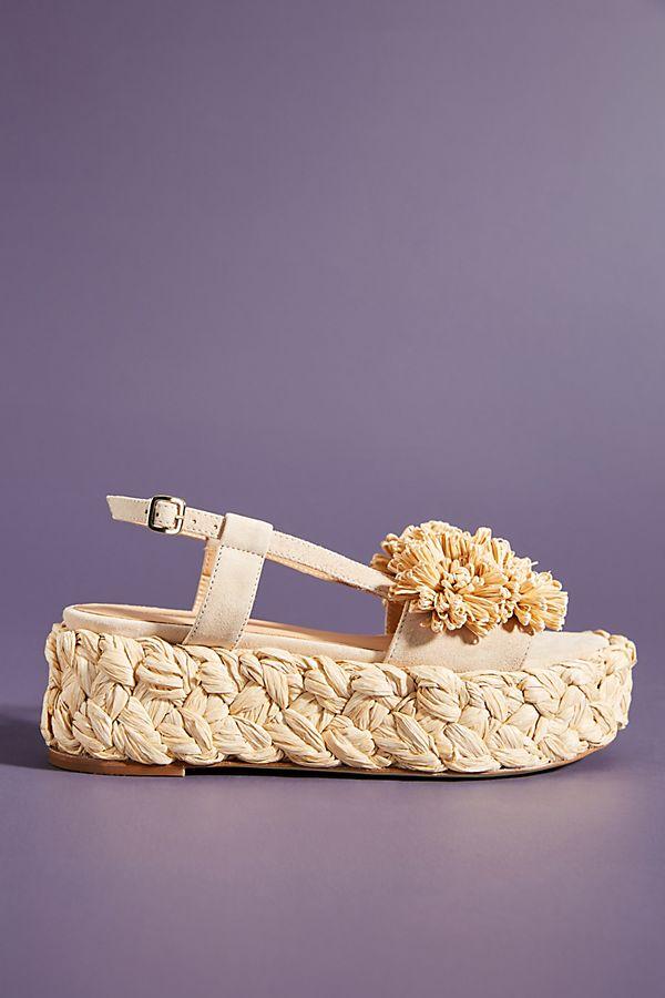 premium selection d298b ce8f1 Paloma Barcelo Flower Platform Sandals