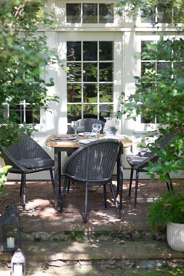 Slide View: 2: Harbor Teak Dining Table