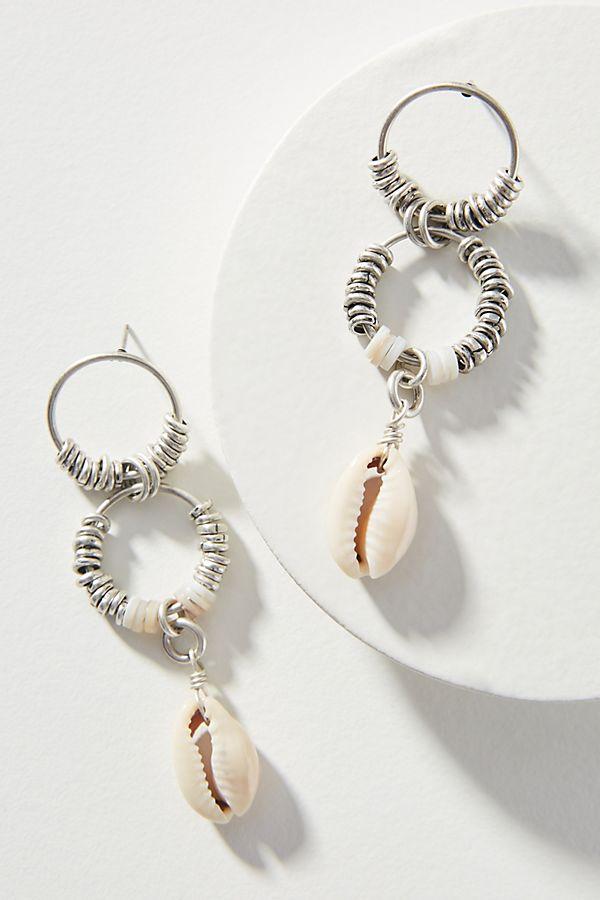 030515664 Dannijo Bondi Hooped Post Earrings | Anthropologie