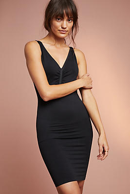 Slide View: 1: Hidden Curves Firm Shaping Slip Dress