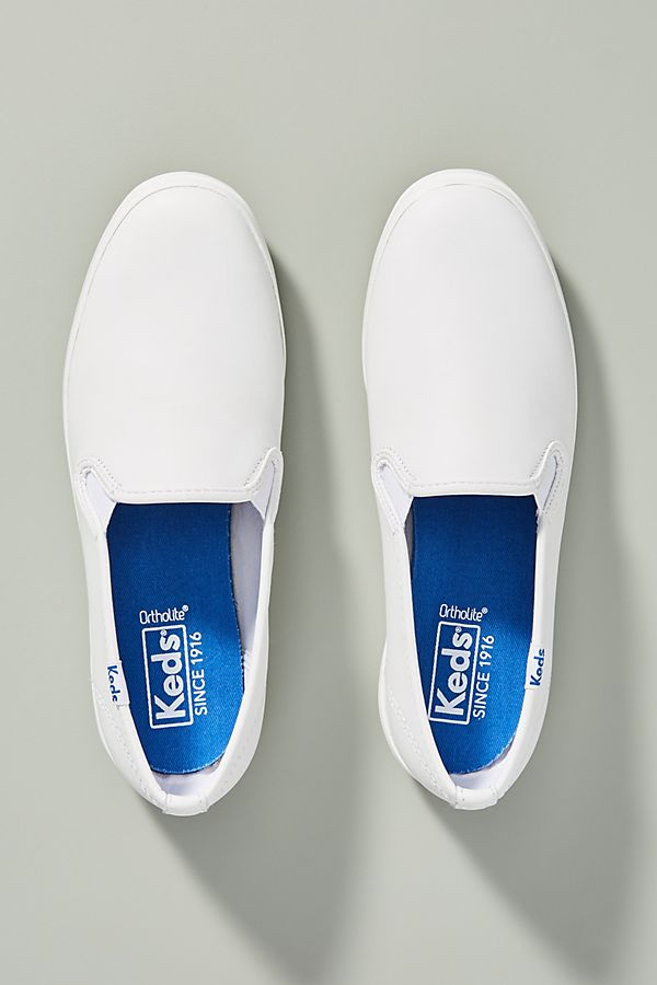 a44960f5697 Slide View  2  Keds Champion Leather Slip-On Sneakers