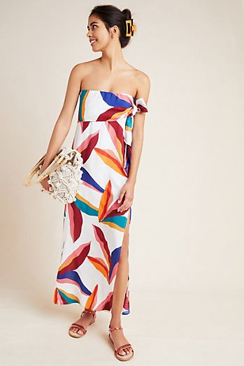 2874b98015f1 ViX Guana Strapless Dress