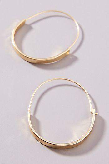 Hoop Earrings Circle Anthropologie