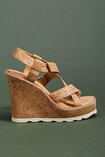 Bill Blass Rae Wedge Sandals