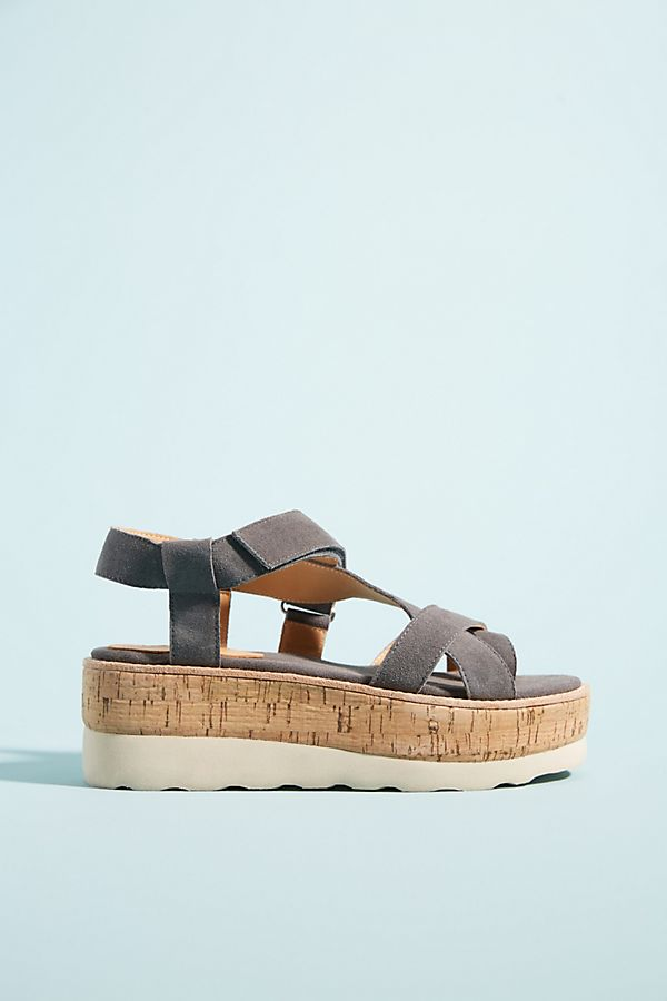 Slide View 1 Bill Blass Radley Platform Sandals
