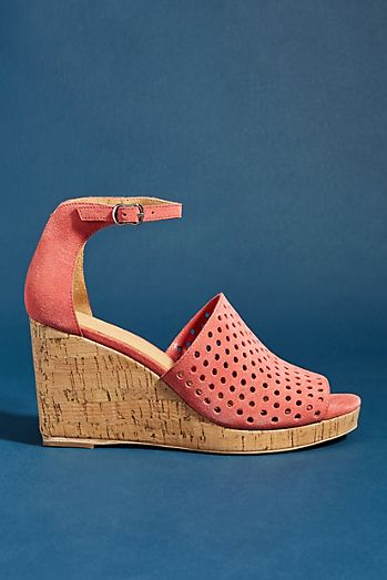 a11b0133927 Bill Blass Zelda Wedge Sandals
