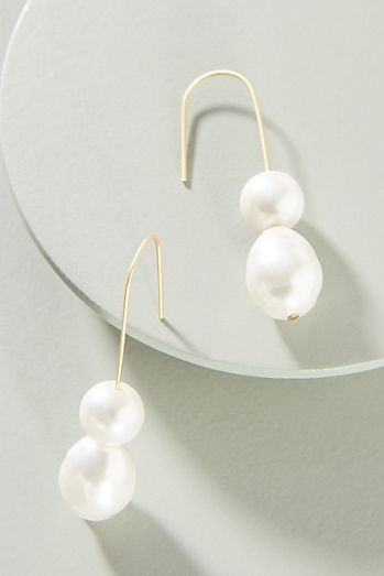 Couplet Freshwater Pearl Drop Earrings 3c16e9afd281