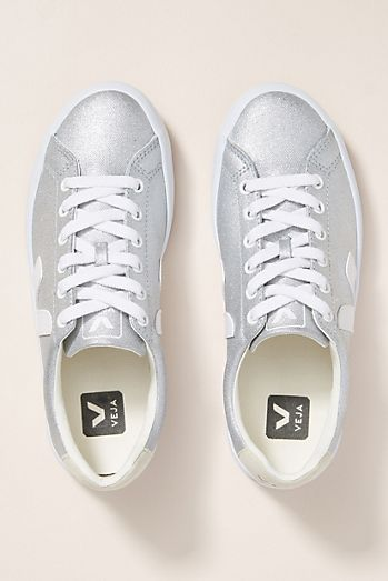 804b6c868917a Veja Silver Low-Top Sneakers