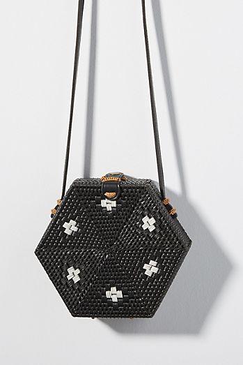 acdb7cb48415 Betsy Hexagon Crossbody Bag