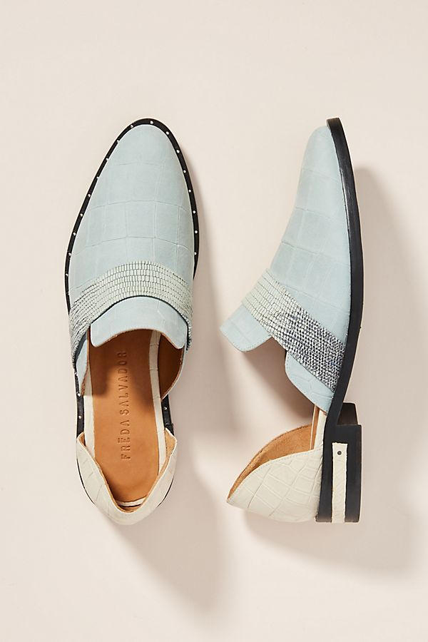 94791aafff7 Freda Salvador Cut-Out Oxford Loafers