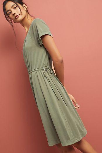 39cdf111764a1 Waisted Cupro Dress