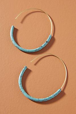 Slide View: 1: Isa Hoop Earrings