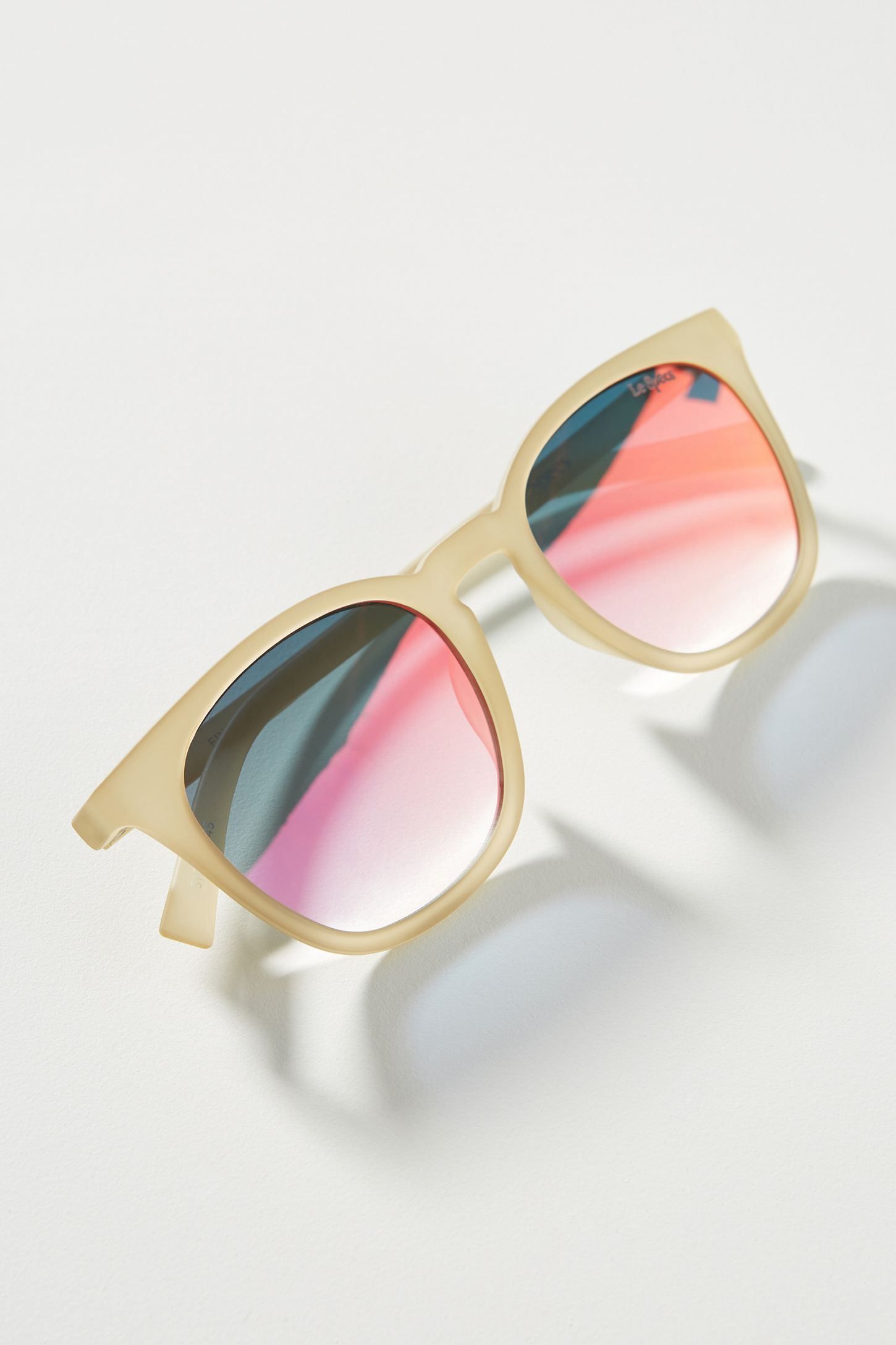 4d057cef37d Le Specs Fine Speciman Square Sunglasses
