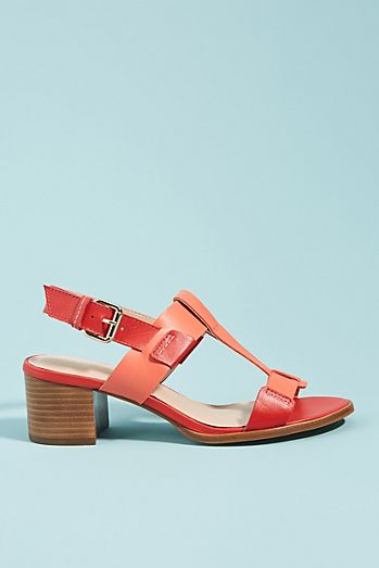4f329f37b2c3 Pyramidis Colorblocked Heeled Sandals