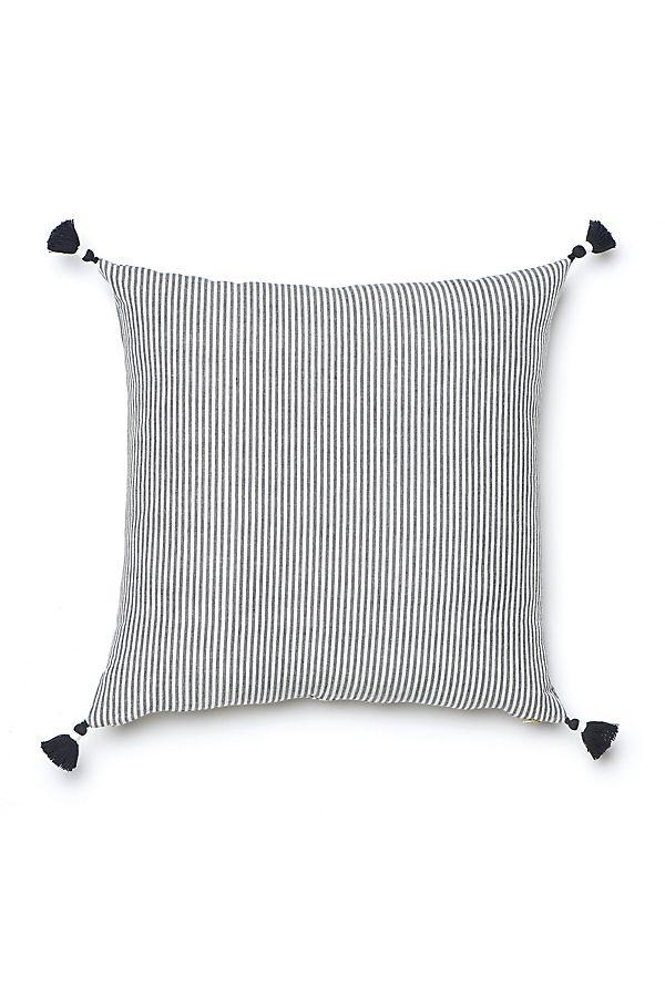 Caitlin Wilson Black French Stripe Pillow