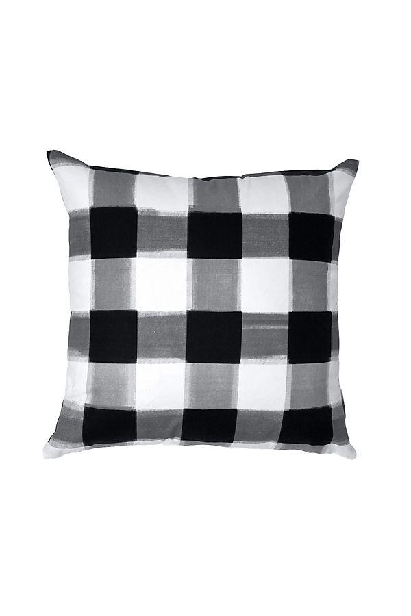 Magnificent Caitlin Wilson Black Buffalo Check Pillow Short Links Chair Design For Home Short Linksinfo