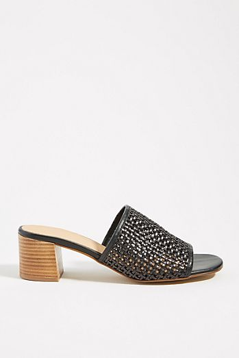 b28a0d4a0813 Anthropologie Lydia Woven Heeled Sandals