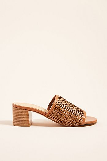 6e23d44b057b Anthropologie Lydia Woven Heeled Sandals