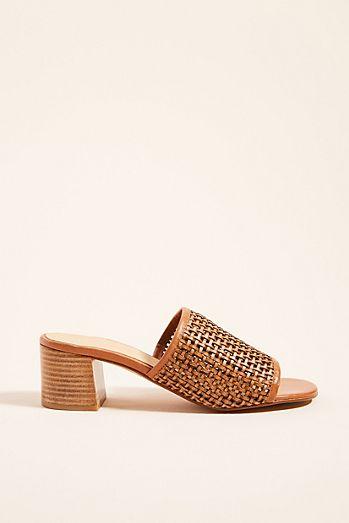 d4c2b4d897b Anthropologie Lydia Woven Heeled Sandals