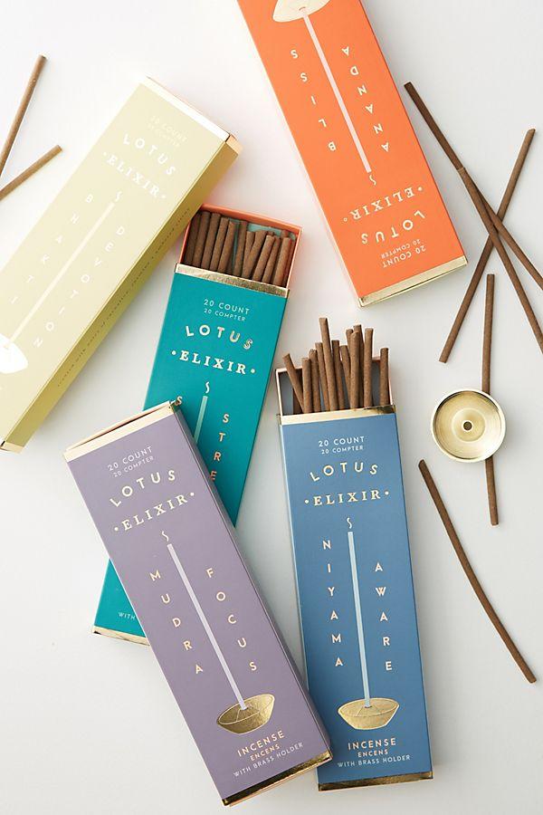Slide View: 2: Lotus Elixir Incense Sticks