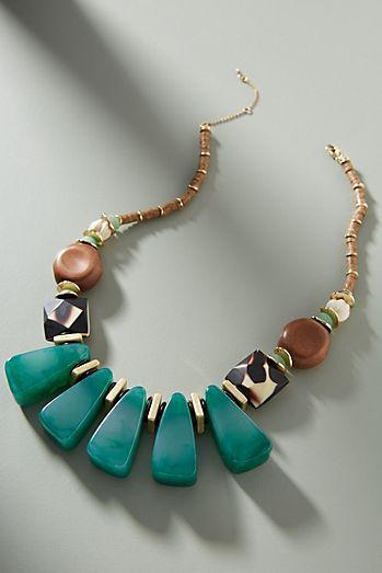 c87f518055a Jasmine Bib Necklace