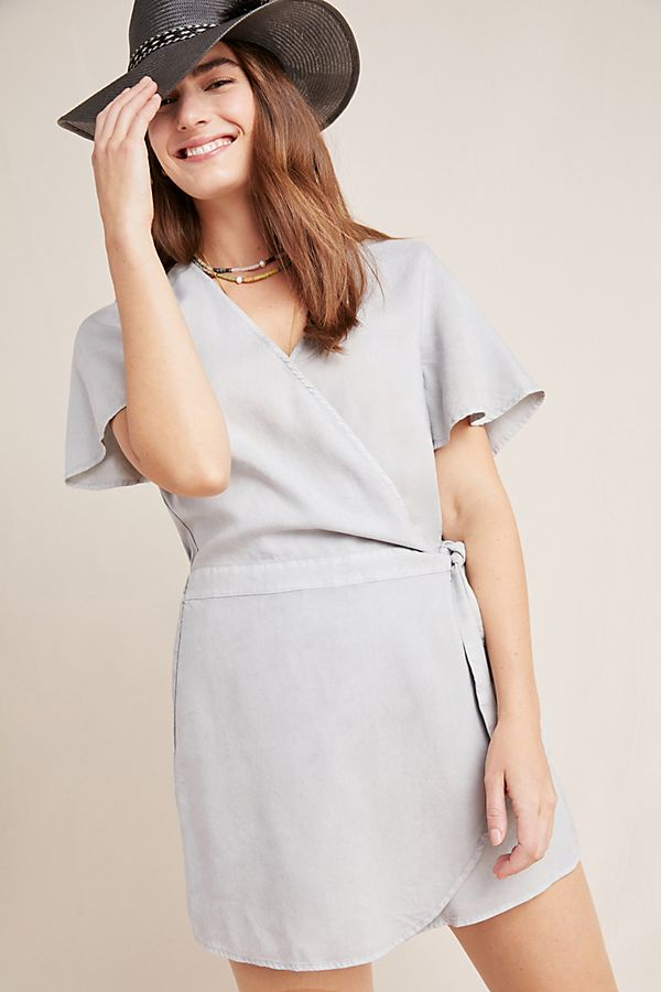 Slide View: 1: Cloth & Stone Skirted Romper