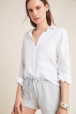 Slide View: 1: Cloth & Stone loion Linen Shorts