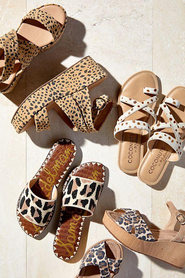 578e353d562e Matisse Leopard-Print Wedge Sandals   Anthropologie