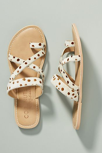 f03467defac43c Coconuts by Matisse Dotted Slide Sandals