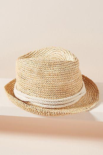 3bd7537709d Frayed Bucket Hat.  38.00. + 2 colors · Ale by Alessandra Marin Raffia  Fedora