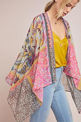 Slide View: 3: Belinda Floral Kimono