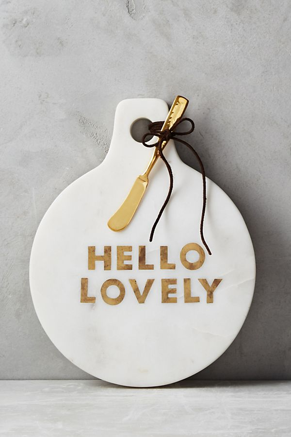 Slide View: 1: Gilded Greetings Cheese Board