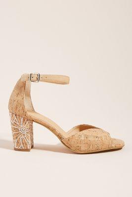 Anthropologie Soren Heeled Sandals by Anthropologie