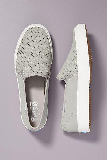 ec8424cf8d63c8 Keds Perforated Slip-On Sneakers