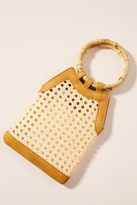 Fiona Woven Clutch by Anthropologie