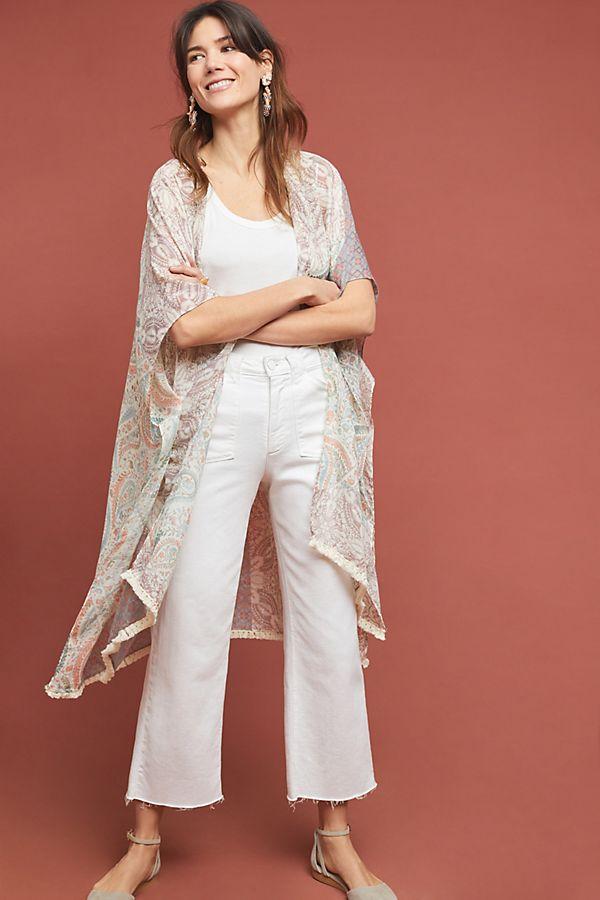 dda148e860 Sheer Floral Kimono | Anthropologie