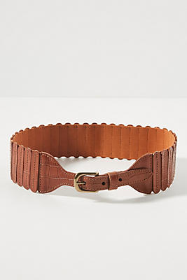 Tabby Stretch Waist Belt by Anthropologie